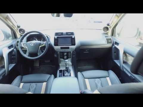 Комфортные сидения BMW G-серии в Land Cruiser Prado