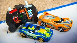 getlinkyoutube.com-Hot Wheels AI RC Toy Cars for Kids Racing Car Track Toys for Boys Kinder Playtime