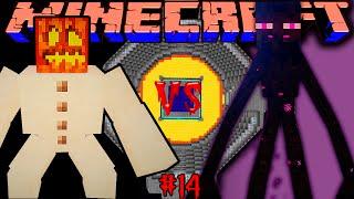 "getlinkyoutube.com-MUTANT SNOW GOLEM VS MUTANT ENDERMAN! Битва мобов в Minecraft! #14 ""Mob Battle"""