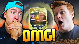 INSANE TOTS GUESS WHO DISCARD PACKS vs CAPGUNTOM! - FIFA 15 TOTS PACK OPENING
