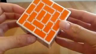 getlinkyoutube.com-grigorusha Great Wall Cube 6x6 (aka advanced Wall/Burr Cube 4x4)