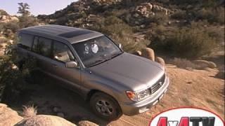 2002 Toyota Land Cruiser Test - 4x4TV Test Videos