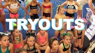 getlinkyoutube.com-Cheer Extreme Tryouts 2015