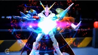 Digimon All-Star Rumble stop motion - Omegamon VS Imperialdramon