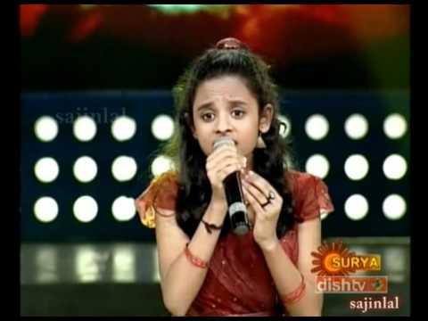 Poornasree: Kannuthurakkatha daivangale... in Sangeetha Mahayudham finale
