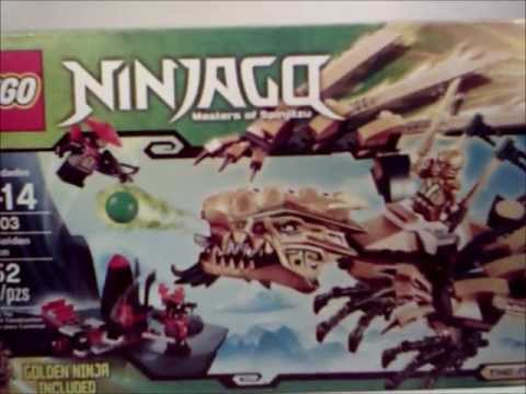video review of the lego ninjago final battle the golden dra