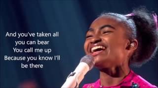 Jasmine elcock   True Colors Phil Collins on Britain's Got Talent 2016 amazing width=