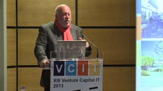 Closing Keynote do Venture Capital IT por Dominique Fache
