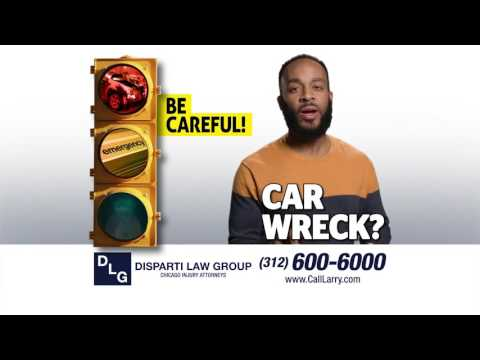 Car Wreck Injuries? STOP. THINK. Call the Disparti Law Group!