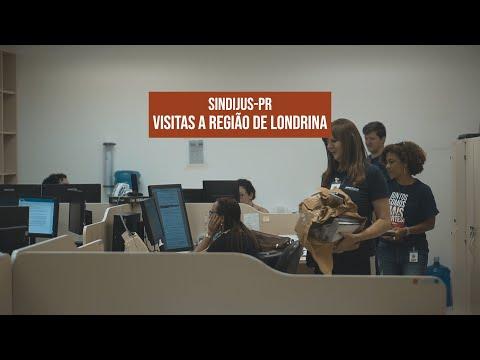 Diretores do Sindijus-PR começam 2020 na estrada, região de Londrina