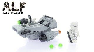 Lego Star Wars 75126 First Order Snowspeeder™ - Lego Speed Build Review