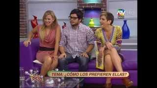 """getlinkyoutube.com-Alejandra baigorria Delly madrid """"el Tamaño Si importa"""""""