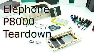 getlinkyoutube.com-Elephone P8000 Teardown - Whats Inside of it & Stability Check ! [4K]