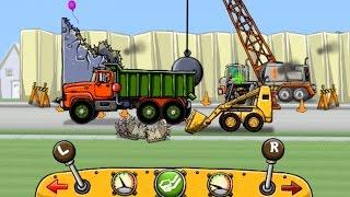 getlinkyoutube.com-เกมส์ รถบรรทุกต่อพ่วงรถดักดิน รถแม็คโคร ทำภารกิจ