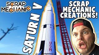 getlinkyoutube.com-Scrap Mechanic CREATIONS! - WORLD'S BIGGEST ROCKET!! [#19] W/AshDubh   Gameplay  