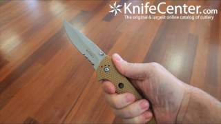 getlinkyoutube.com-Columbia River 7914DIN Hammond Desert Cruiser Knife