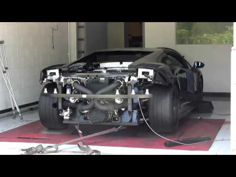 Twin Turbo Lamborghini Gallardo Superleggera Dyno - 1042RWHP