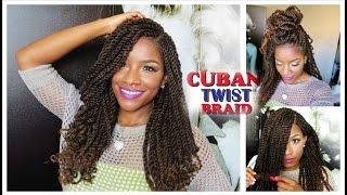 getlinkyoutube.com-Tutorial & Styling w/ Freetress Equal Cuban Twist Hair