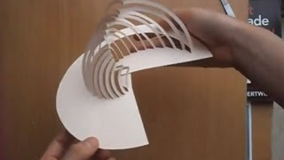 getlinkyoutube.com-09 Amazing Kirigami Paper Art Tutorial
