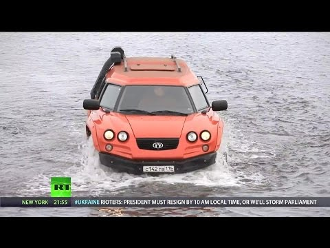 RT - Aton Impulse Viking Amphibious Off-Road Vehicle [1080p]