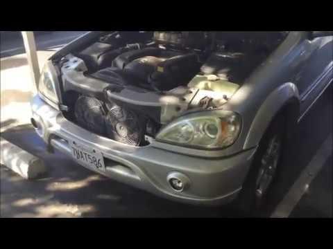 Замена насоса омывателя лобового стекла Mercedes ML 320 W163 2002