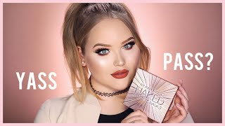 URBAN DECAY NAKED ULTIMATE BASICS PALETTE | First Impressions + Tutorial