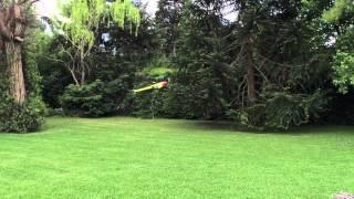 getlinkyoutube.com-Having fun in backyard with Goblin 380