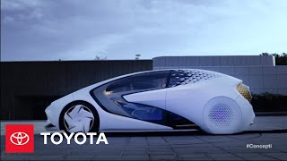 Toyota Concept-i (:60) l CES 2017 | Toyota