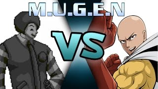 getlinkyoutube.com-M.U.G.E.N Saitama vs Dark Donald
