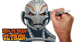 getlinkyoutube.com-How to Draw Ultron- Avengers- Video Lesson