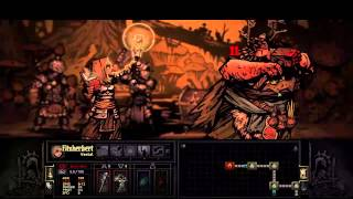 getlinkyoutube.com-Darkest Dungeon Hag Witch Champion mode in 3 rounds! easy!