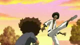 getlinkyoutube.com-Ni**a You Gay Moments: Boondocks