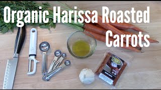 Roasted Carrots with Harissa