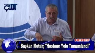 """Kepez Belediye Başkanı Dr. Ömer Faruk Mutan ; """" Hastane Yolu İnşaatını Bitirdik."""""""