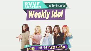 getlinkyoutube.com-[RVVF Subteam][Vietsub] 160316 Red Velvet @ Weekly Idol Ep.242