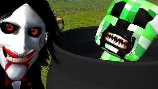 getlinkyoutube.com-「マイクラ」クリーパーvsソウ!Creeper vs Saw (Minecraft Animation/Parody)