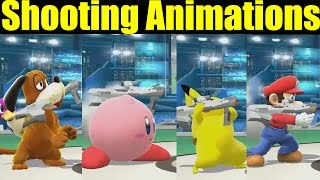 getlinkyoutube.com-All Shooting Animations in Super Smash Bros Wii U (FAN REQUESTED VIDEO)