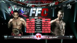 Final Fight Championship 8: Ricco Rodriguez vs. Zelg Galešić