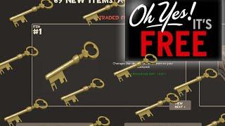 Free TF2 Keys!!