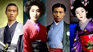 getlinkyoutube.com-Japan Samurais and Beauties in the 19th century, Edo and Meiji eras サムライ・美女