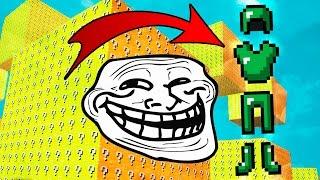 Minecraft CUBÃO : TROLL DA MELHOR ARMADURA !! (MINECRAFT TROLL)
