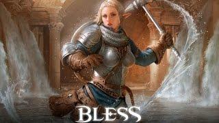 Bless Online - Paladin Gameplay (Race: Aqua Elf)