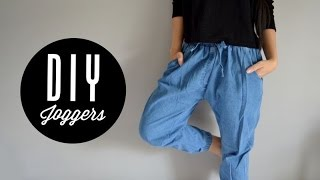 getlinkyoutube.com-DIY Joggers   Injoyy