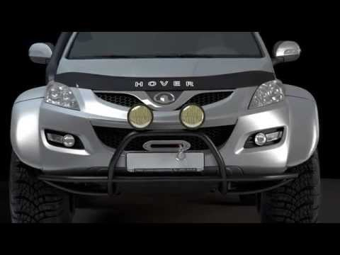 Great Wall Hover H5 TD AT Luxe в модификации Off-Road Land (визуализация)