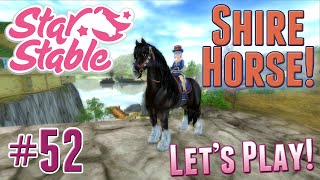 getlinkyoutube.com-Let's Play Star Stable #52 - A New Shire Horse!