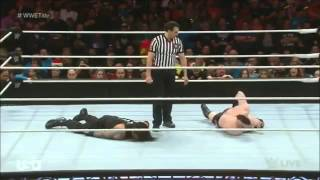 getlinkyoutube.com-Roman Reigns vs Sheamus WWE World Heavyweight Championship match 14/12/2015