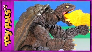 getlinkyoutube.com-Godzilla Wakes GAMERA 2 vs Legion (1996) Movie Toys | Kaiyodo Revoltech Sci Fi Figures Review