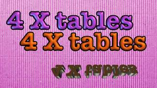 getlinkyoutube.com-4 times tables- multiplication song (and skip counting by 4)
