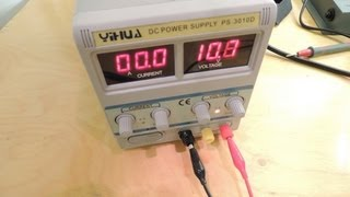 getlinkyoutube.com-YIHUA PS-3010D LAB POWER SUPPLY REVIEW AND REPAIR