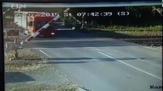 Polski kierowca Tira cudem Przeżył